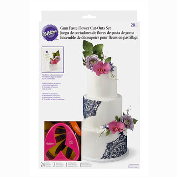 Wilton Additional Wired Gum Paste Flowers Deel 1, 28 augustus