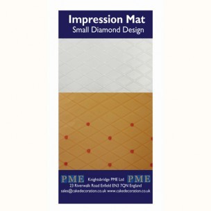 PME Impression Mat Diamond Small