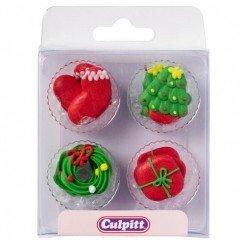 Culpitt Suikerdecoratie Kerst pk/12
