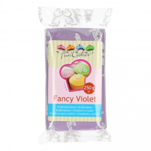 Funcakes Rolfondant Fancy Violet, 250 gram