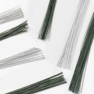 Culpitt Floral Wire White - 18 Gauge