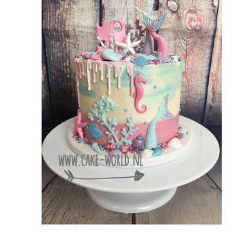 Workshop Zeemeermin Drip Cake 9 maart