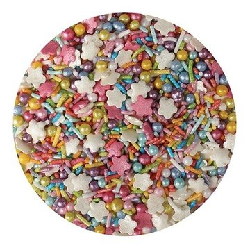 Edibles Sprinkles Rainbow Mix 100 gr