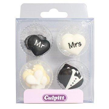 Culpitt Suikerdecoratie Mr&Mrs