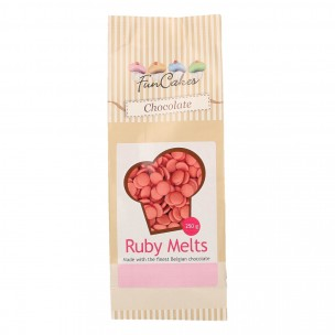 FunCakes Chocolade Melts Ruby 250g