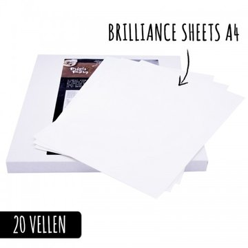 Brilliance Frosty Sheets A4-formaat/20st.