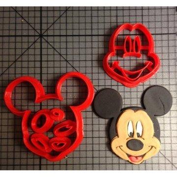 Koekjes uitsteker Mickey Mouse 14cm