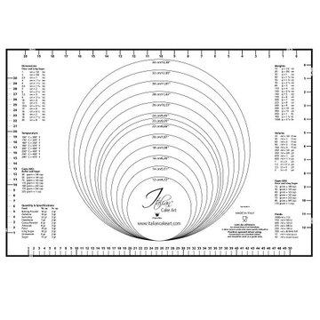 Martellato Uitrolmat met Maatindeling 60x40cm
