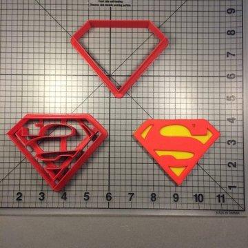 Koekjes uitsteker Superman Logo 50mm