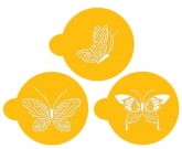 Butterfly Cookie Tops Designer Stencil
