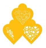 Contemporary Hearts Designer Stencil