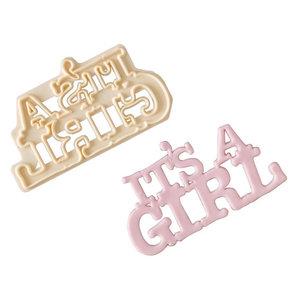 FMM It's a Girl Cutter
