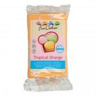 Funcakes Rolfondant Tropical Orange, 250 gram