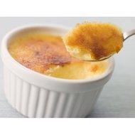 Paisley Bavarois Crème brûlée