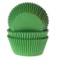 House of Marie Baking Cups Gras Groen 50st.