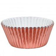 PME Baking Cups Metallic Rose Gold 30st.