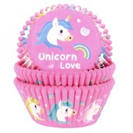 House of Marie Baking Cups Unicorn 50st