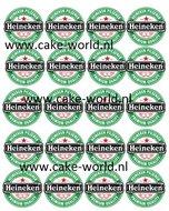 Heineken Cupcake Print