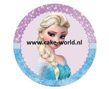 Frozen Elsa Taartprint
