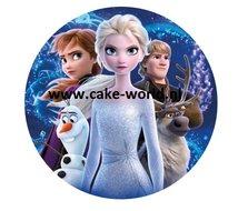 Frozen II Eetbare Taartprint