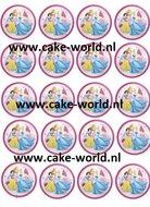 Prinsessen 1 Cupcake Print 20st