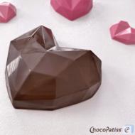 ChocoPatiss Diamond Heart Medium, 8cm