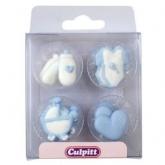 Culpitt Suikerdecoratie Baby Pipings Blue