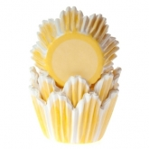 House of Marie Mini Baking Cups Tulp Geel