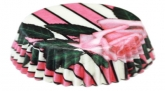 Kalasform Taartvormpje Pink Rose Polybag