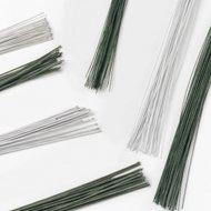 Culpitt Floral Wire Dark Green - 24 Gauge