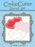 Double Heart Cookie Cutter & Stencil