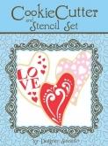 Folk Heart Cookie Cutter & Stencil