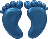 FI Molds Medium Baby Feet