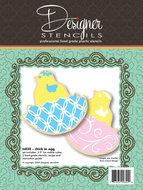 Cookie Cutter & Stencil Set Chick in Egg