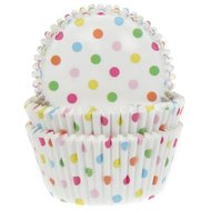 House of Marie Baking Cups Confetti, pk/50