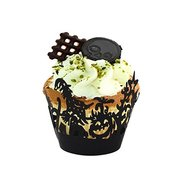Halloween Cupcake Wrappers Black pk/12