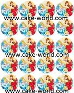 Prinsessen Cupcake Print 20st