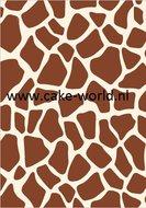 Tas Taartprint Giraffe