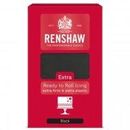 Renshaw Extra Fondant 1 kg Black