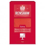 Renshaw Extra Fondant 1 kg Red