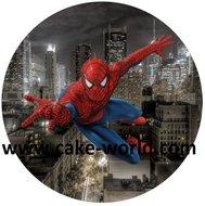 Spiderman taartprint 2