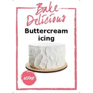 Bake Delicious Buttercream Icing, 450gr.