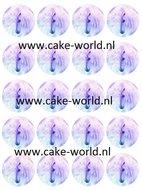 Unicorn Cupcake 4 Print 20st