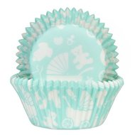House of Marie Baking Cups Newborn Mint
